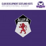 Club Development Scotland visits Ayr United Football Academy's Walking Football Programme
