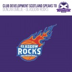 Behind the Goals with Duncan Smillie of Glasgow Rocks