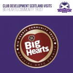 Club Development Scotland visits Big Hearts
