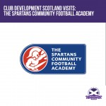 Club Development Scotland Visits The Spartans Community Football Academy