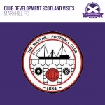 Club Development Scotland Visits Maryhill FC