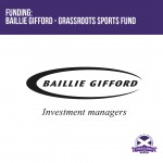 Funding: Baillie Gifford - Grassroots Sports Fund